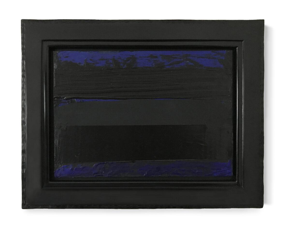 Pierre Soulages Peinture 2015, 21 x 29.7 cm, original painting for sale