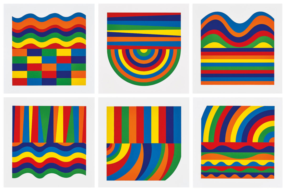 A19 40 LEWITT Arcs and Bands in Colour horizontal