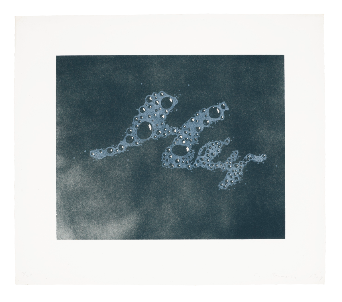 RUSCHA HEY Original Print Art