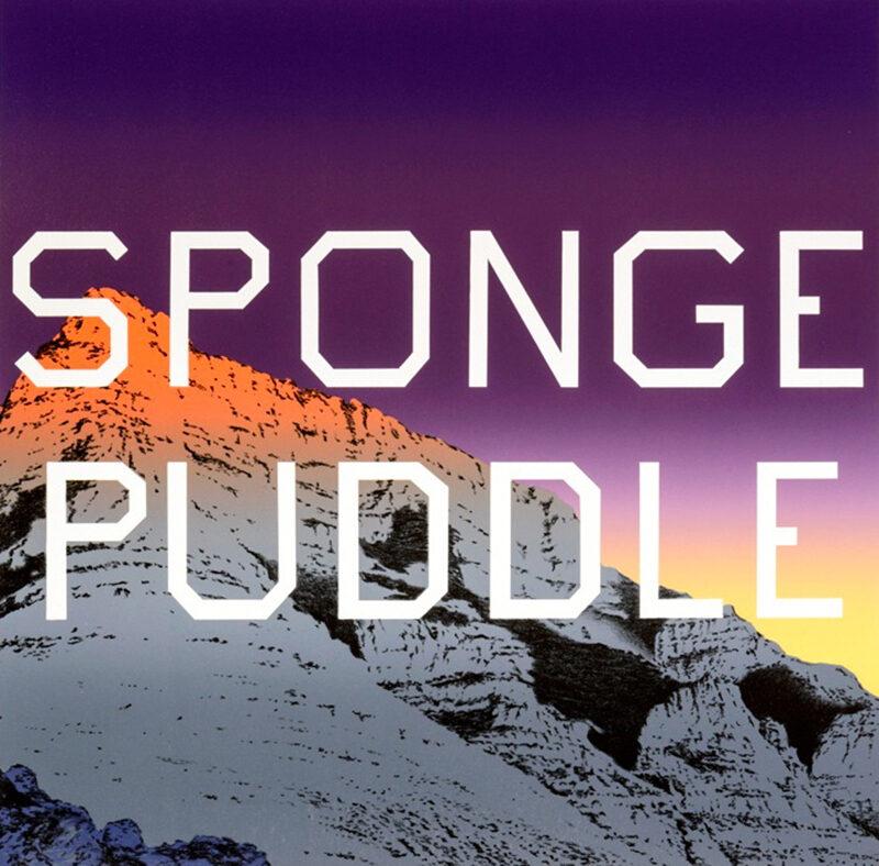 Ed Ruscha Sponge Puddle original signed lithographic print for sale