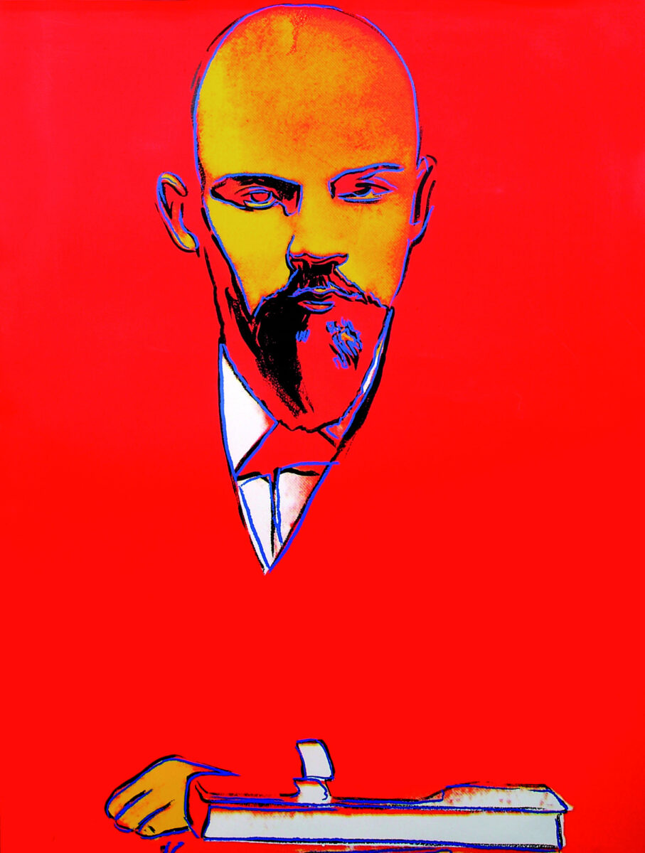 Andy Warhol Red Lenin original scrrenprint on arches 88 paper signed and numbered