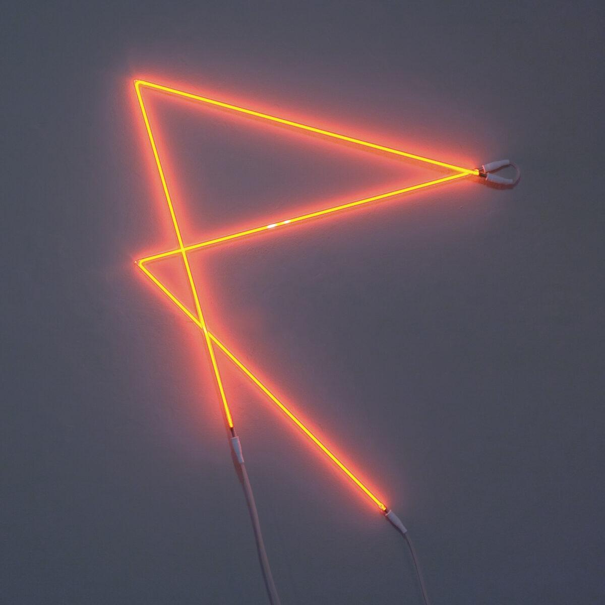 François Morellet Signalisation n°1 P limited edition Red neon tubes artwork for sale