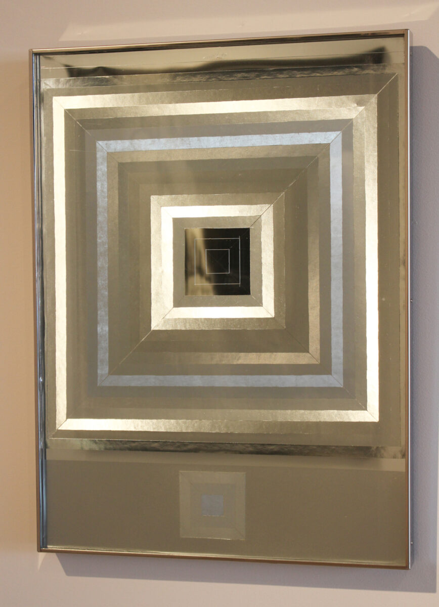 Heinz Mack Lichtfenster (Hommage à Albers) unique artwork for sale
