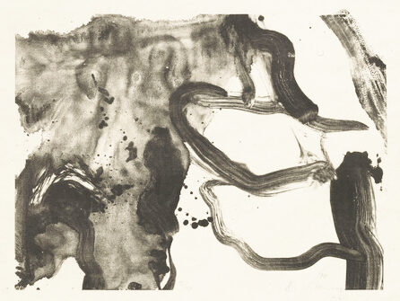 Willem de Kooning Landing Place original lithograph from the edition of 54 signed