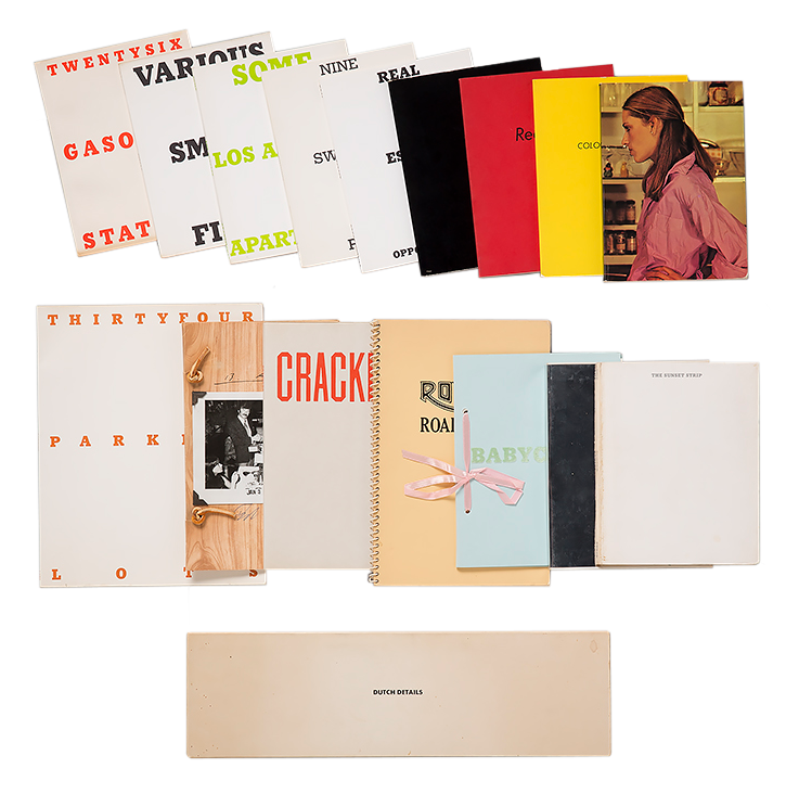 Ed Ruscha Complete Signed collection of first edition books for sale