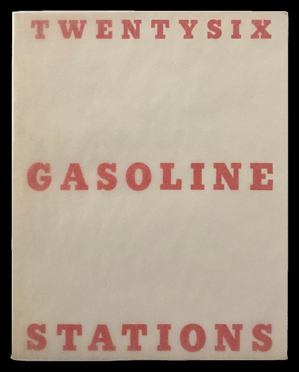 Ed Ruscha Twentysix Gasoline Stations artists book for sale