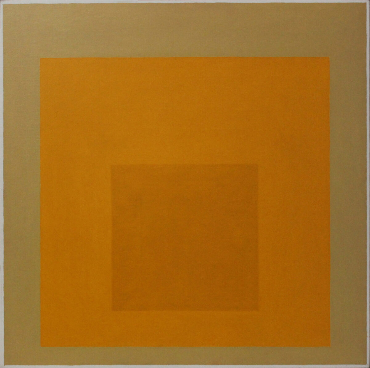 Josef Albers Study to Homage to the Square Desert Dusk oil painting for sale