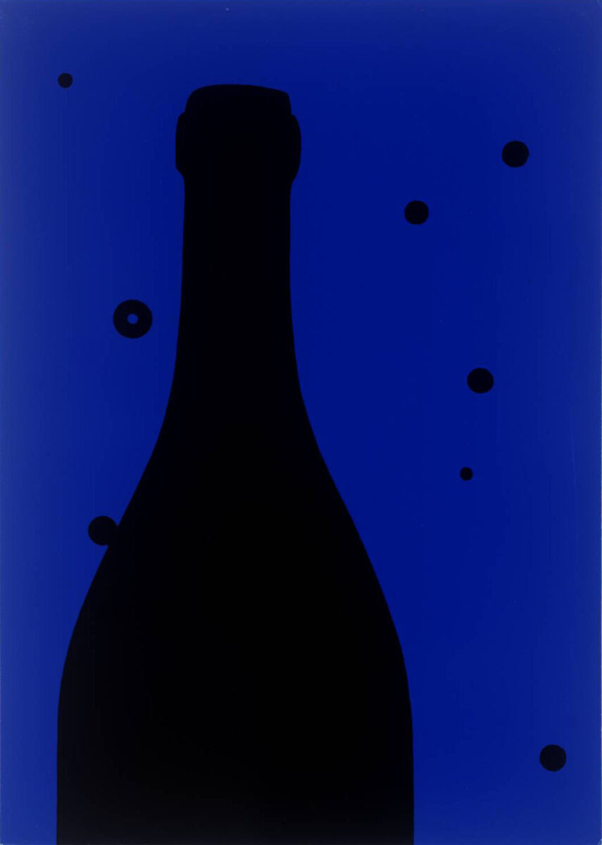 Patrick Caulfield Night Sky original screenprint on card from the edition of 100 signed and datef for sale
