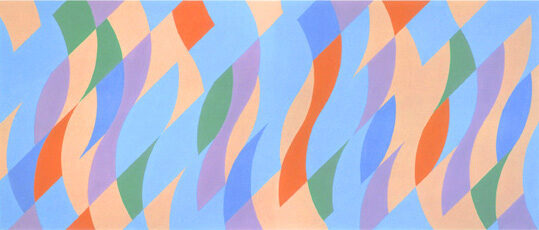 Bridget Riley From One To The Other, original colour screenprint for sale