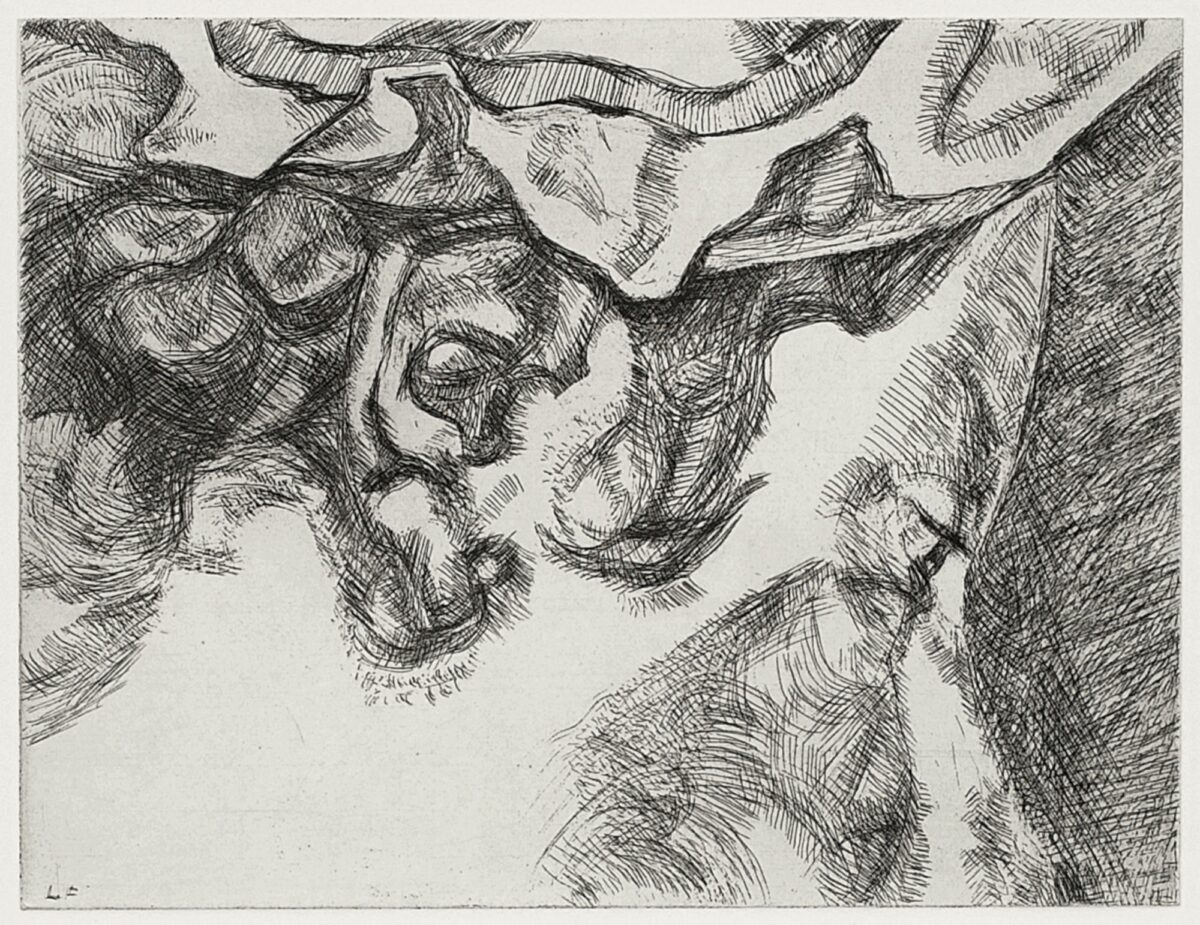 Lucian Freud After Chardin original etching for sale