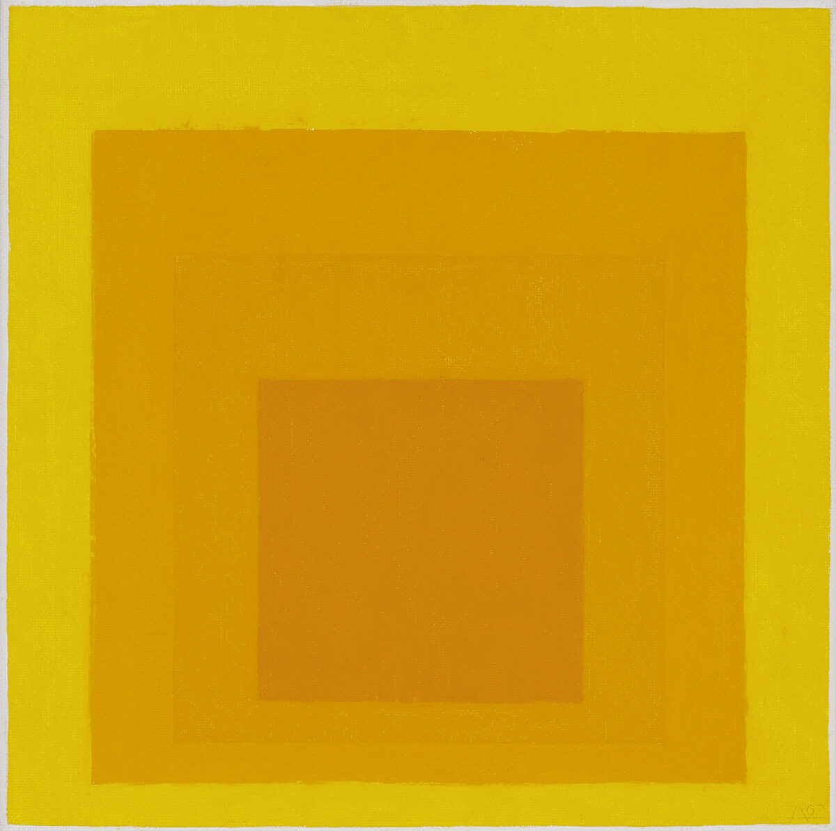 Josef Albers Homage to the Square 1967 original oil painting for sale