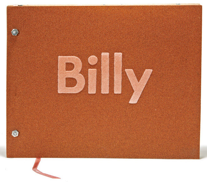 Ed Ruscha Billy catalogue for exhibition of work by Billy Al Bengston