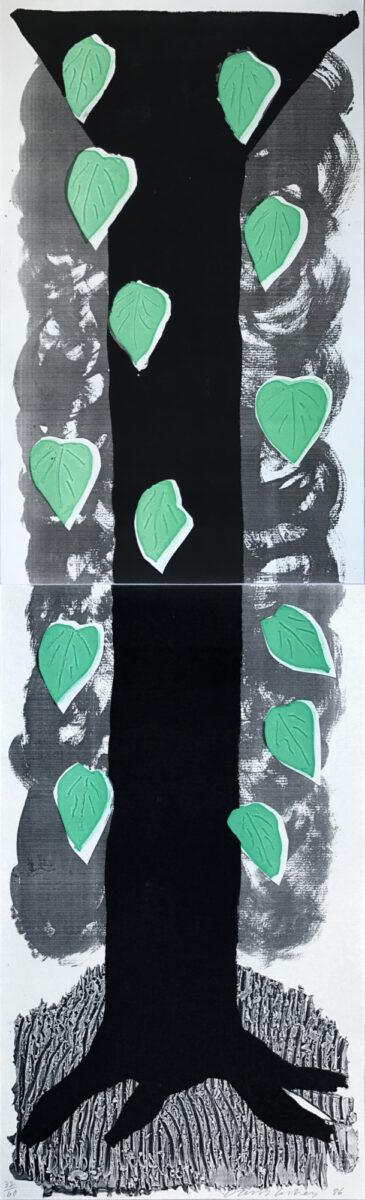 David Hockney The Tall Tree, original home made print for sale