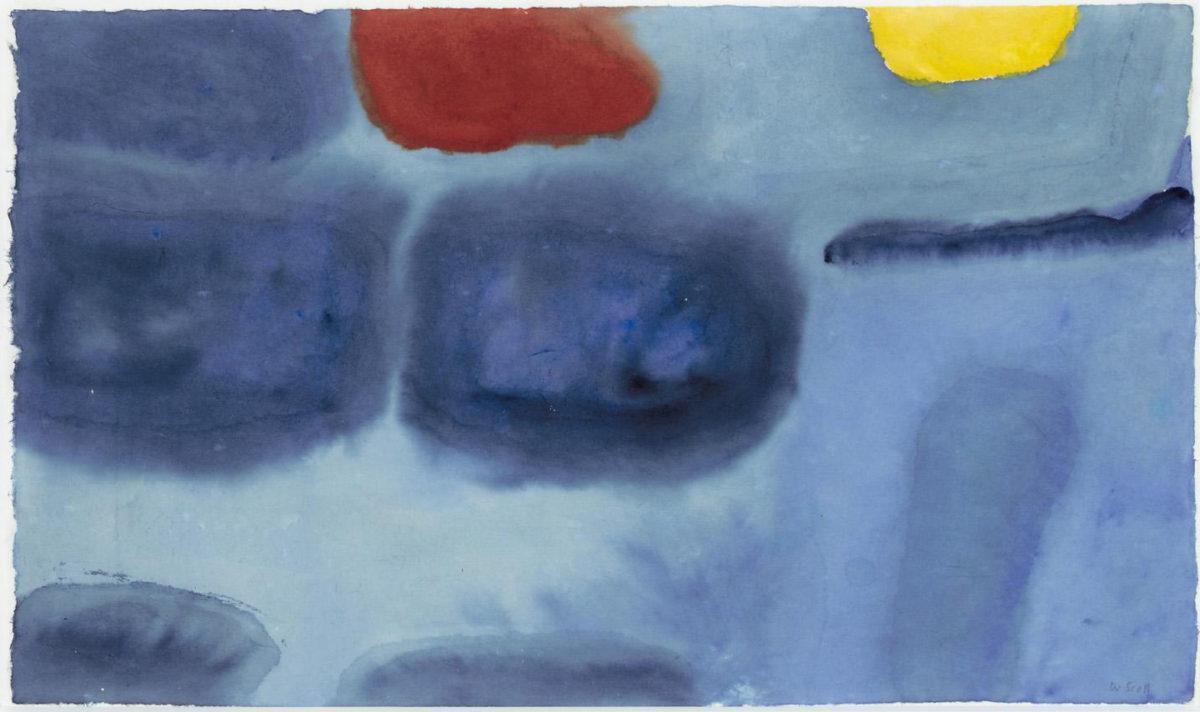 Scott Blue Yellow Red Gouache