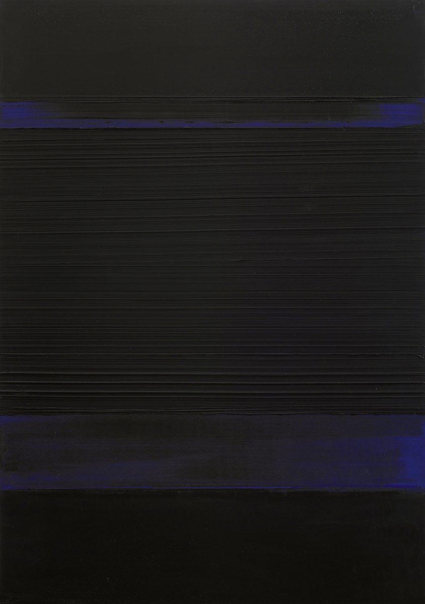 Soulages Peinture 130 x 92 cm 8 avril 1989 crop