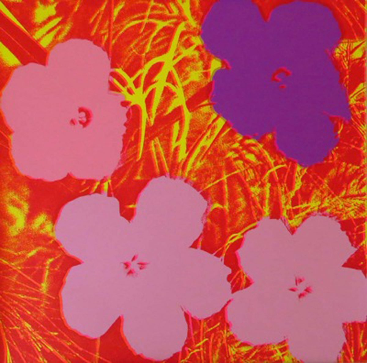 Warhol Flowers 1970 ss unique recto LARGE