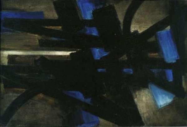 Peinture 15-1-53 - Pierre Soulages
