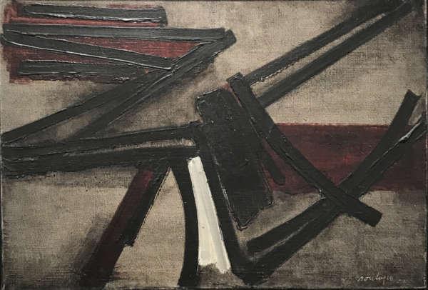 Peinture, 19 Novembre 1951 - Pierre Soulages