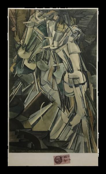 Nude Descending a Staircase, No. 2 (Nu descendant un escalier n° 2) - Marcel Duchamp