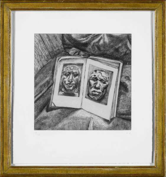 The Egyptian Book - Lucian Freud