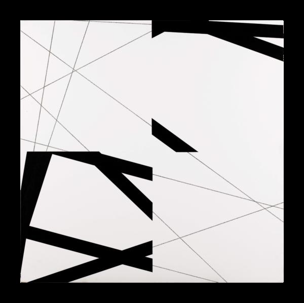 STRIP-TEASING 4 FOIS NO.7 - François Morellet