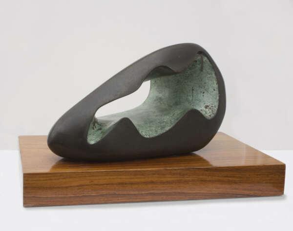 Figure in a Landscape (Zennor) - Barbara Hepworth