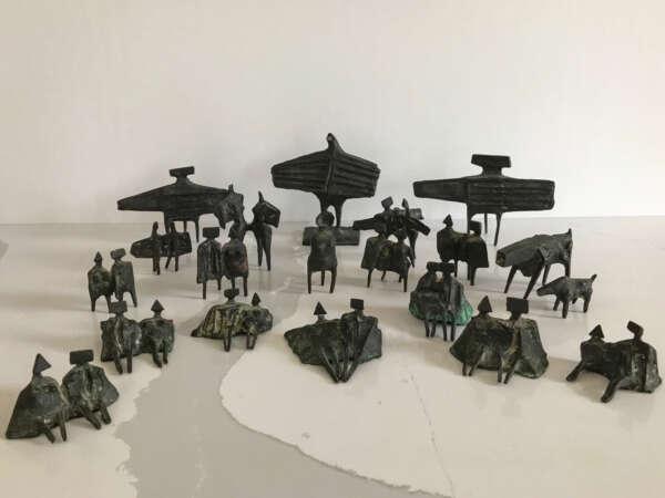 Group of Twenty Miniature Figures - Lynn Chadwick
