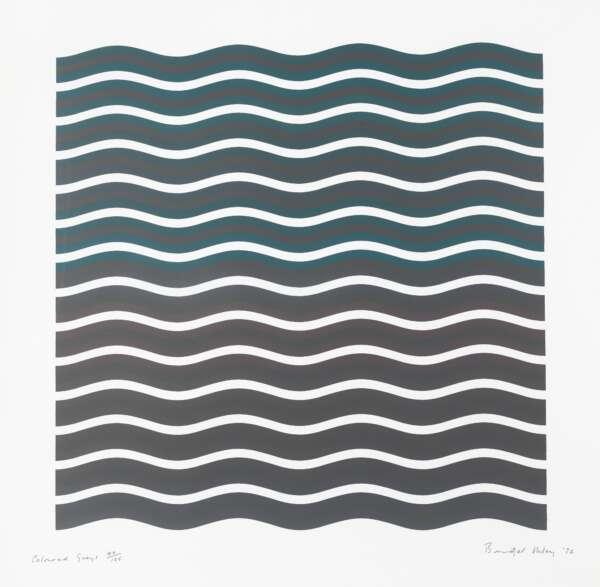 Coloured Greys [2] - Bridget Riley
