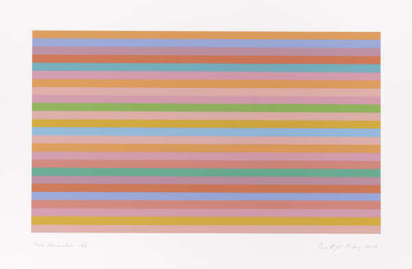 Rose Horizontal - Bridget Riley