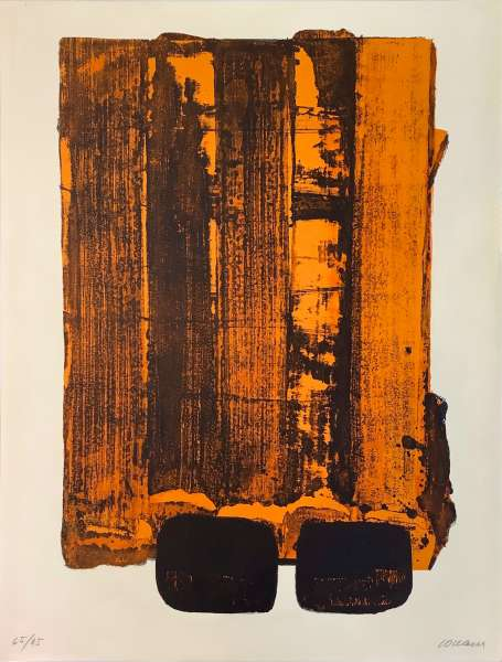 Lithographie n° 34 - Pierre Soulages