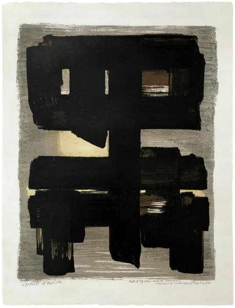 Lithographie n° 1 - Pierre Soulages