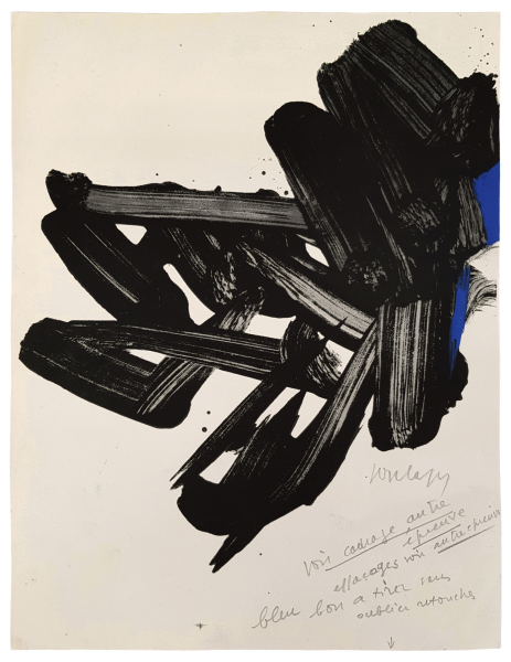Lithographie n° 17 - Pierre Soulages