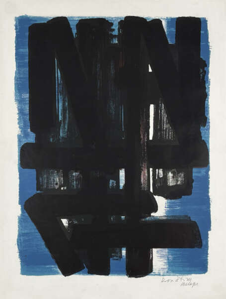 Lithographie n° 5 - Pierre Soulages