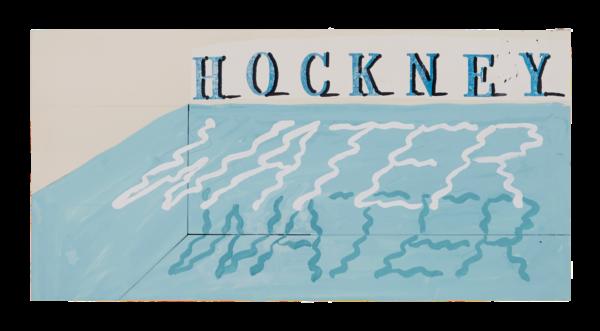 Water - David Hockney