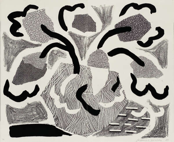 Grey Blooms - David Hockney