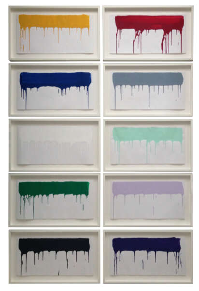 Coloured Paintings - Ai Weiwei