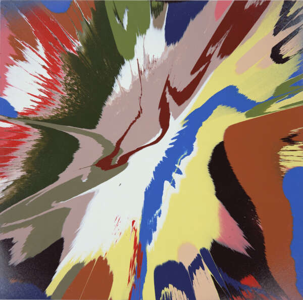 Beautiful Melancholy Painting - Damien Hirst