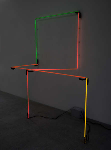 Neon Wrapping Neon II - Keith Sonnier