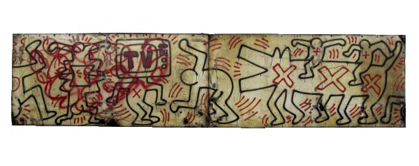 Untitled (FDR NY) #3 & #4 - Keith Haring