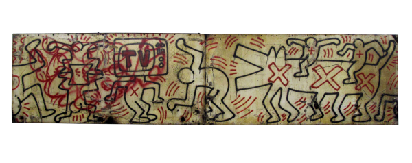 Untitled (FDR NY) #3 & #4 - Keith Haring