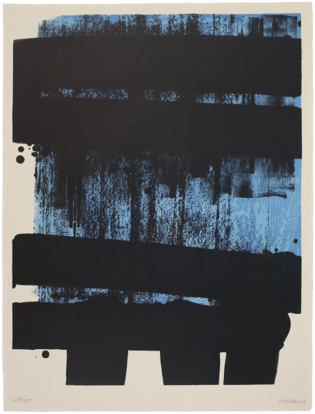 Lithographie n° 36 - Pierre Soulages