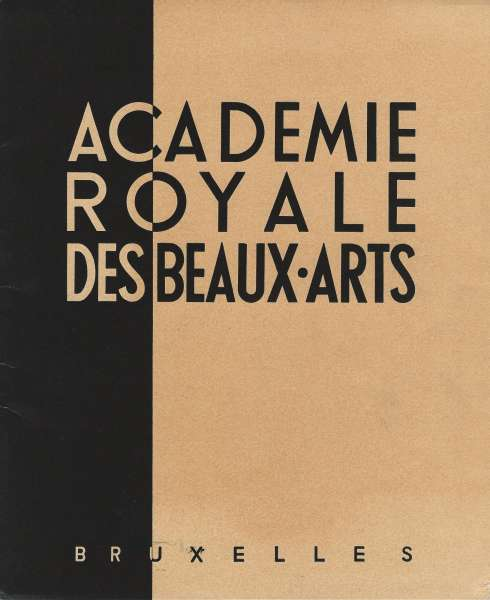 Academie Royale Des Beaux Arts - Post-War & Contemporary Art