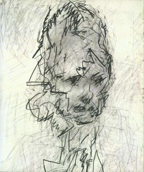 Some Drawings and Three New Paintings - Frank Auerbach