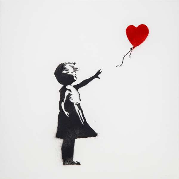 Girl with Balloon - Banksy