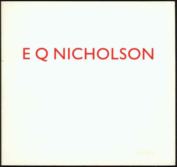 E Q Nicholson - British Art
