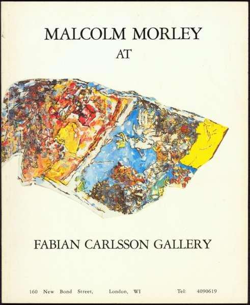 Malcolm Morley - British Art