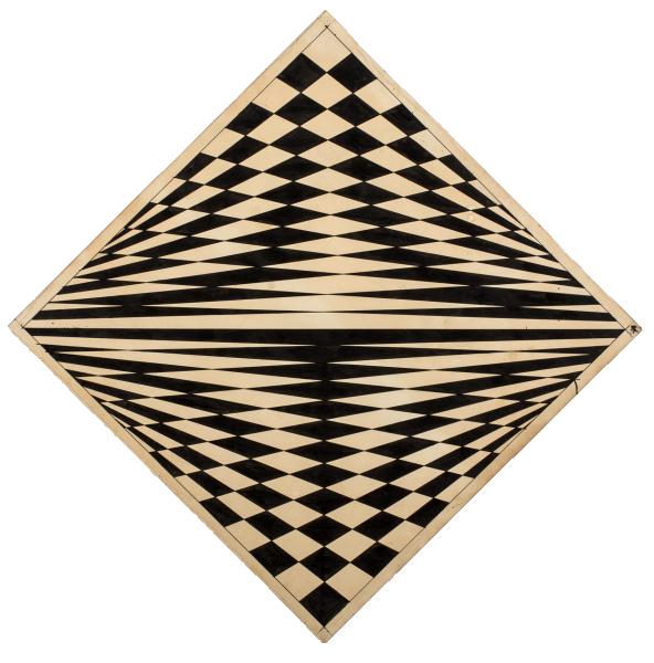 Disegno ottico-dinamico-indeterminato progr. 5 - Dadamaino