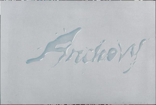 Anchovy - Ed Ruscha