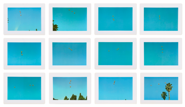 Throwing Three Balls in the Air to Get a Straight Line (Best of Thirty-Six Attempts) - John Baldessari