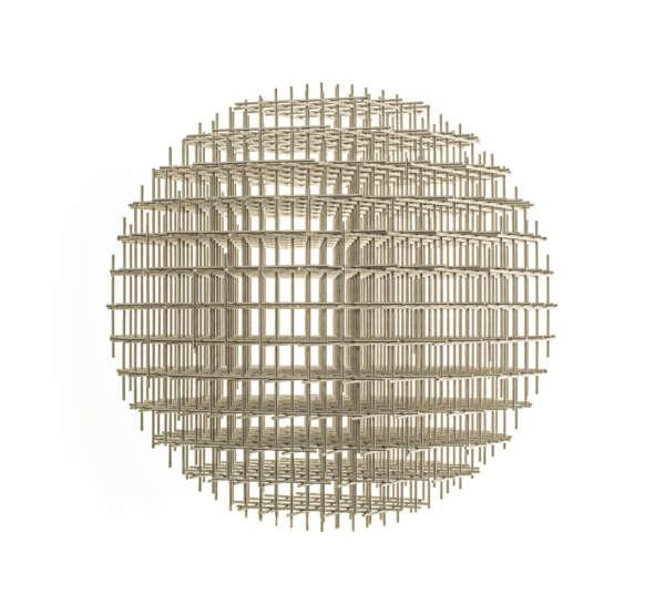 Sphere-Trame - François Morellet